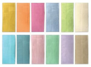6 Oversize Hand Towels 50 X 89 cm, Soft Cotton Terry Loops