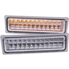 ANZO LED Parking Lights Chrome For 1988-1998 CHEVROLET K1500