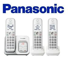 Panasonic KX-TGD533 Cordless Phone with  Answering Machine 3 Handsets