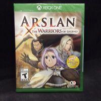 Arslan: The Warriors of Legend (Microsoft Xbox One, 2016) BRAND NEW/ Region Free