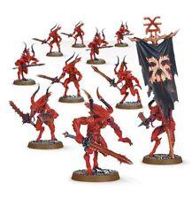 Warhammer 40k o edad de Sigmar: los demonios: demonios caos de khorne Bloodletters