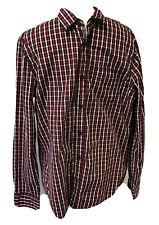 Men's Chequered Fatface Shirt Medium