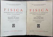 Gaetano Castelfranchi, Fisica sperimentale e applicata, Ed. Hoepli, 1954-1955