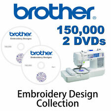150,000+ Brother Embroidery designs cards Largest Collection on eBay PES Machine