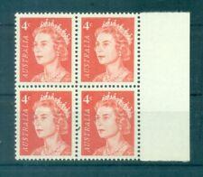 """QUEEN ELIZABETH II - AUSTRALIA 1966 """"4c"""" Common Stamps Block of 4"""