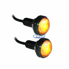 Eagle Eyes High Power Amber/Yellow LED DRL Projector Screw Reverse Tail Light