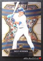 Nico Hoerner 2020 Panini Select Baseball RC #27 Chicago Cubs Rookie Card