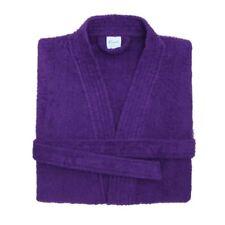 Serviettes, draps et gants de salle de bain peignoirs rouges coton