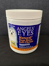 Angels' Eyes Natural Tear Stain 120 Soft Chews 8.5 oz (240g) 12/2021 New Sealed