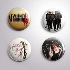 4 MY CHEMICAL ROMANCE MCR - Pinbacks Badge Button Pin 25mm 1''