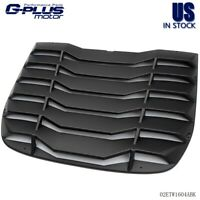 Fit For 09-19 NISSAN 370Z Matte Black Rear Window Louvers Cover Sun Shade ABS