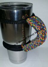 Paracord Handle for 40oz,30oz, or 20ozYeti Ozark & Rtic Autism Awareness color