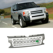 For Range Rover LR3 2005-2009 Gray Chromed Front Grille Mesh Vent Hole New 1pc