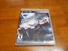 Ridge Racer Unbounded (Sony PlayStation 3, 2012) CIB Complete TESTED