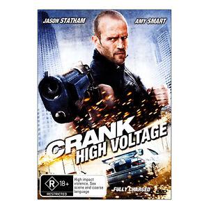Crank: High Voltage DVD New Region 4 Aust - Jason Statham, Amy Smart - Free Post