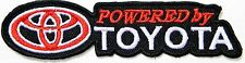 POWER BY TOYOTA Logo Racing Car Pick up Patch Iron on Jacket T-shirt Cap Badge