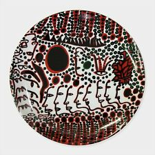 NEW YAYOI KUSAMA Women Wait for Love Plate Japanese Art F/S Japan