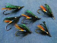 Black Dose - Hairwing pattern - Classic flies for Atlantic salmon fly fishing