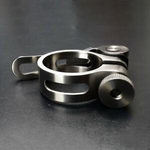 Titanium Ti Quick Release Seatpost Holder Clip Clamp 31.8 / 34.9mm Bicycle Bike