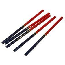 5 Pz legno Rosso e Blu Mark Draw Carpenter matita M4A1