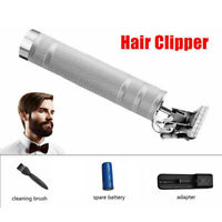 KEMEI Portable Electric Pro T-outliner Cordless Trimmer Wireless Hair Clipper