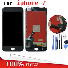 Black LCD Touch Screen Digitizer Replacement Assembly UK For iPhone7 4.7""