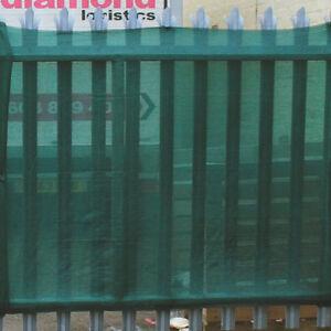 80% Shade Netting Windbreak Fabric Privacy Sceening Garden Net, Green 1m x 15m