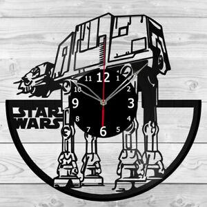 Vinyl Clock Star Wars Vinyl Record Wall Clock Home Art Decor Handmade 5857