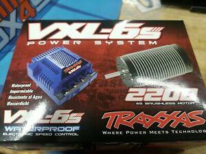 Traxxas Velineon VXL-6s Waterproof Brushless Power System 2200Kv 75mm Motor/VXL-