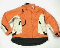 VINTAGE Obermeyer Liberty Ski Jacket Women's Size 6 Orange Hooded Coat 80's