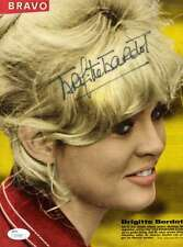 BRIGITTE BARDOT JSA CERTIFIED AUTOGRAPH 8X11 HAND SIGNED PHOTO AUTHENTICATED