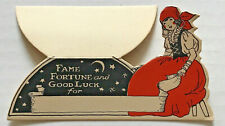 VINTAGE 1930's? Gypsy Fame & Fortune Telling TABLE CARD halloween-style