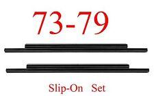 73 79 Ford Slip-On Rocker SET, Regular Cab, Super Cab, Truck, 78 79 Bronco