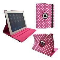 Funda VARIOS COLORES LUNARES Polipiel rotación de 360 GRADOS PARA Apple iPad Air