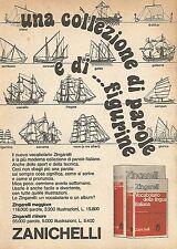 X1949 Vocabolario Zingarelli - Zanichelli - Pubblicità del 1976 - Vintage advert