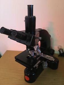 Leitz Wetzlar Mikroskop Ortholux