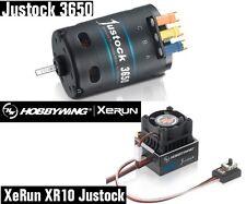 Hobbywing 38020401 XERUN XR10 Juststock ESC + 3650SD 13.5T Motor Combo 1/10 1/12