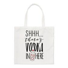 - Non giurare VODKA c'è qui piccolo Tote Bag-Cocktail Party funny spalla