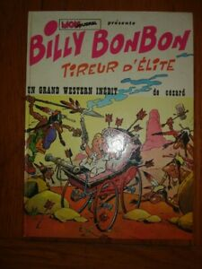 MON JOURNAL BILLY BONBON TIREUR D ELITE GRAND WESTERN INEDIT CEZARD 1973 TOME 2