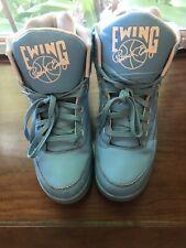 Patrick Ewing Athletics 33 Etheral Blue Hi Top Basketball Sneakers Men's 11