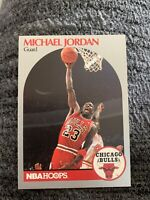1990 NBA Hoops Basketball #65 Michael Jordan Chicago Bulls card - ERROR!!
