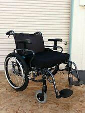 "Karma HD Manual Wheelchair 550lbs 28""W(Permobil, invacare,Quickie, Tilite, levo)"
