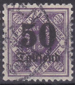 Altdeutschland / Württemberg Mi. Nr. 175 Volksstaat 1923 50t M/15 Pf Dienst USED