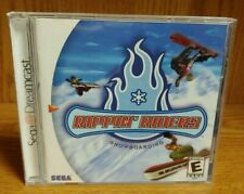 Rippin' Riders Snowboarding  ~ Sega Dreamcast Good Working Condition COMPLETE