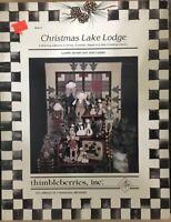 Thimbleberries Christmas Lake Lodge~Santas, Snowmen Angels,etc. Quilt Patterns