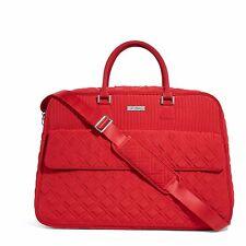 "Vera Bradley Beautiful ""Tango Red"" Grand Traveler Travel Bag NWT!"