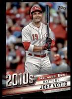 2020 Update Decades Best Black #DB-73 Joey Votto /299 - Cincinnati Reds
