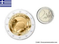 2 Euros Commémorative Grèce 2020 Thermopyles UNC