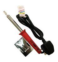 Soldering Iron 60w mains powered Flat Tip Solder Iron