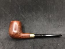 Danish Estates Stanwell Ruby 51M Smooth Straight Billiard Brass Army Mount Pipe